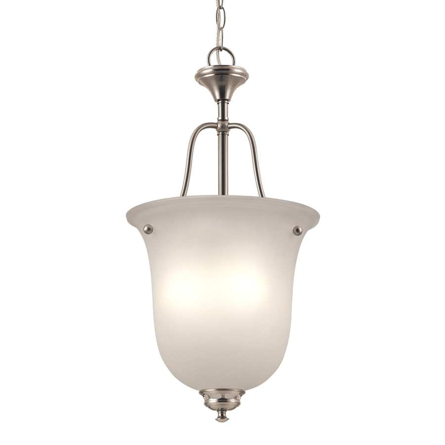 Shop Project Source 13 In W Bronze Integrated Led Ceiling: Shop Project Source Fallsbrook 12-in W Brushed Nickel