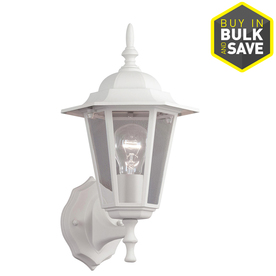 white outdoor lights garage display product reviews for 14in sand white outdoor wall light lights at lowescom