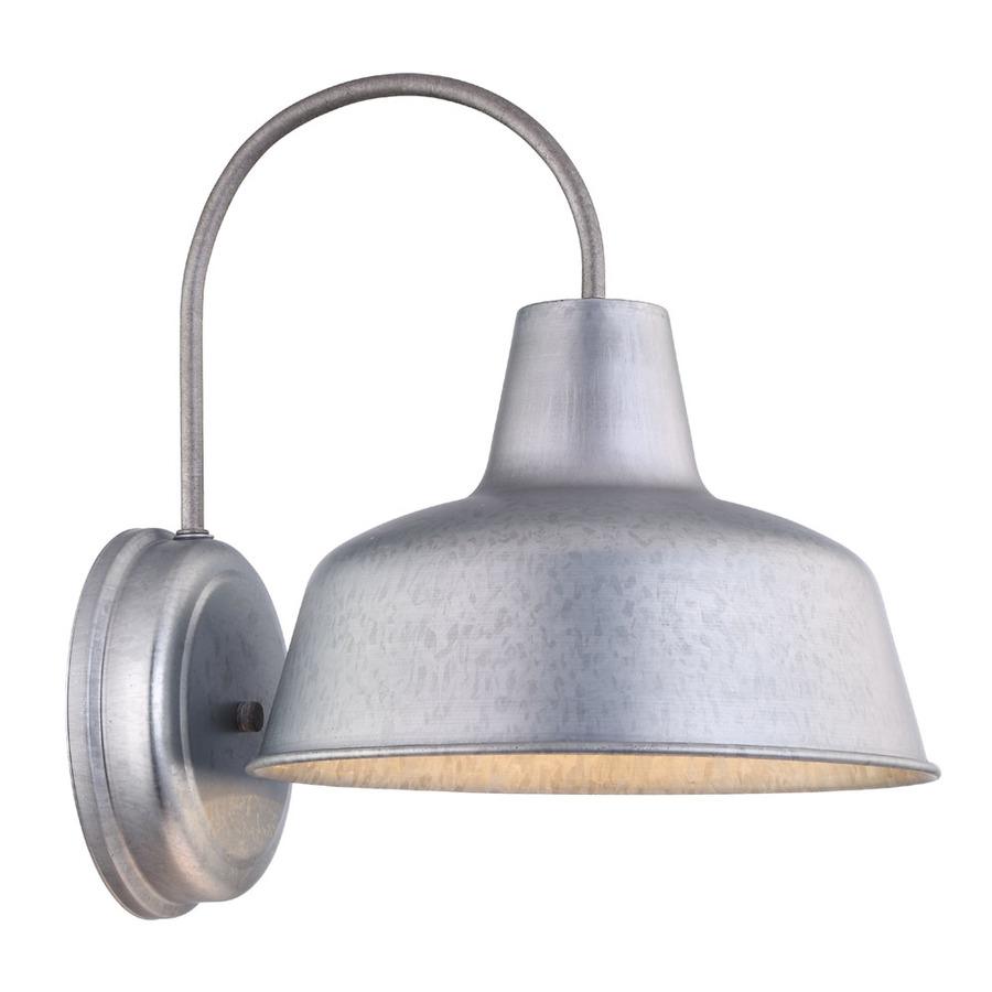 Lowes Lighting: Shop Portfolio Ellicott 13.12-in H Galvanized Dark Sky