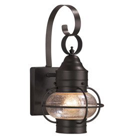 outside barn lights gooseneck barn display product reviews for trevett 14in matte black outdoor wall light lights at lowescom