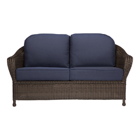 Display Product Reviews For Mcaden Wicker Outdoor Loveseat With Cushion And Steel Frame