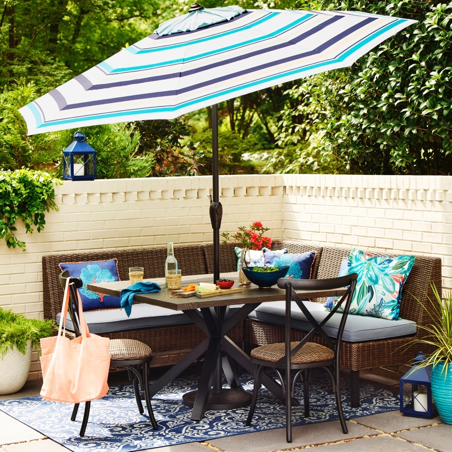 Shop Allen Roth Chesterbrook 6 Piece Patio Dining Set At Lowes Com