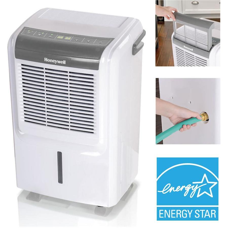 Honeywell ENERGY STAR Dehumidifier 70-Pint 2-Speed Dehumidifier ENERGY STAR   DH70W