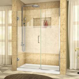 Shop shower doors at lowes display product reviews for unidoor plus 45 in to 455 in w frameless chrome planetlyrics Image collections