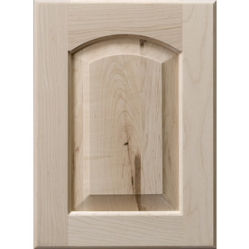 Surfaces Darby 11-in x 15-in Wood Unfinished Maple Arched/Cathedral Cabinet Sample DARARCHPGMAP
