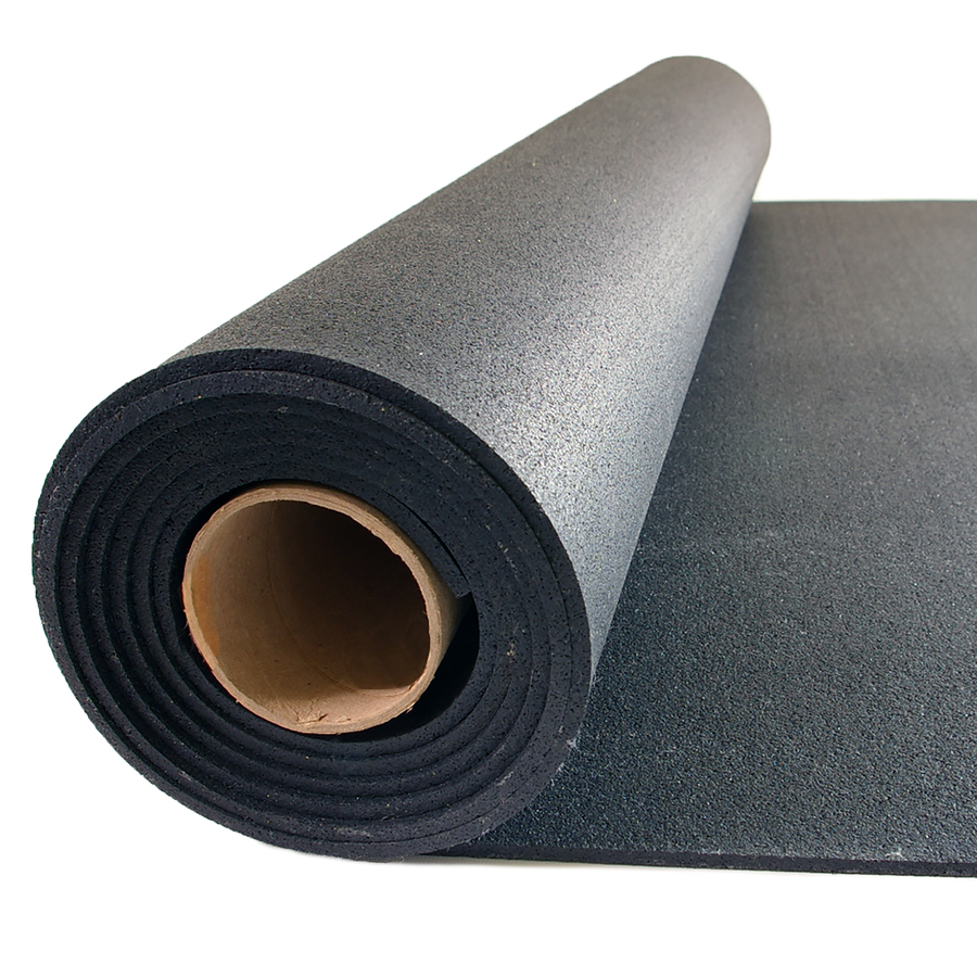 Shop Nutek 48 In X 120 In Black Loose Lay Solid Color
