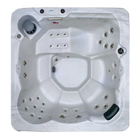 Home And Garden 6-Person Square Hot Tub Xp34