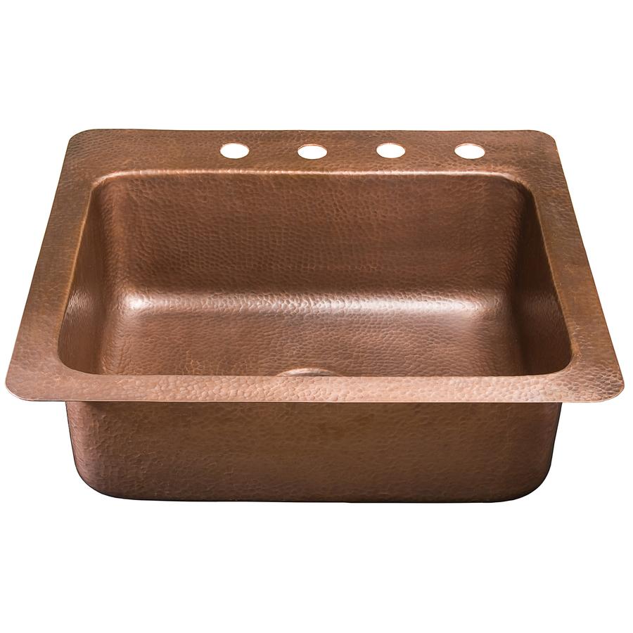 Gauge Copper Kitchen Single Sink