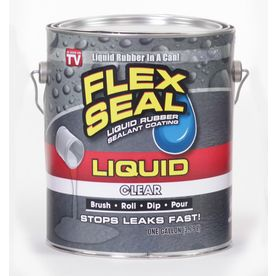 Flex Seal 128-Fl Oz Clear Dip Rubberized Coating Lfsclrr01