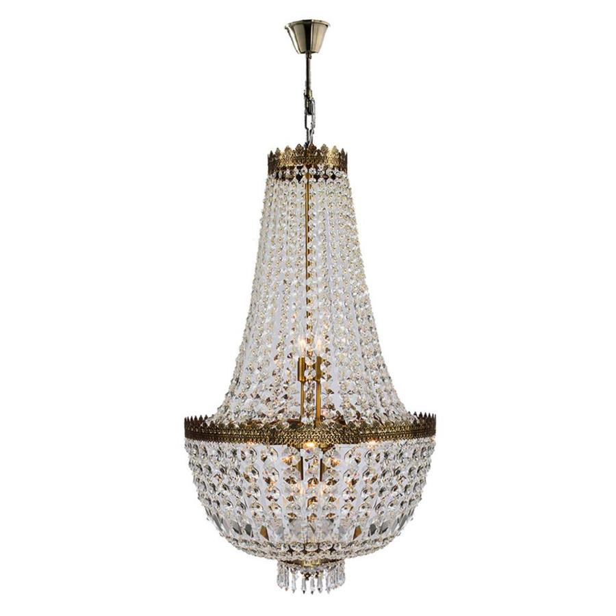 Shop Worldwide Lighting Metropolitan 8 Light Antique