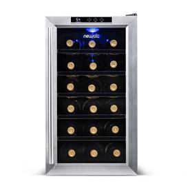 Display Product Reviews For 18 Bottle Capacity Stainless Steel Freestanding Wine Chiller