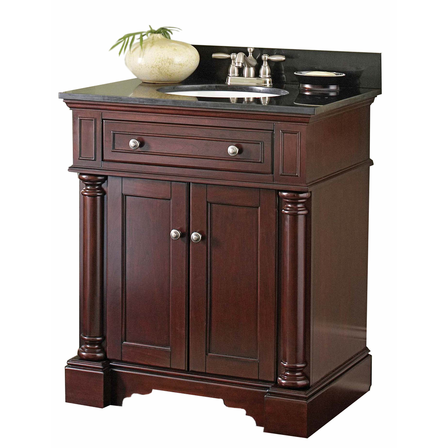 Shop allen + roth Albain Auburn Undermount Single Sink ...
