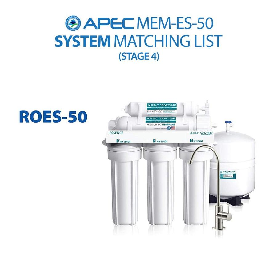 Apec Water Essence Mem Es 50 30 50 Gpd Reverse Osmosis Under Sink Replacement Filter In The Replacement Water Filters Cartridges Department At Lowes Com