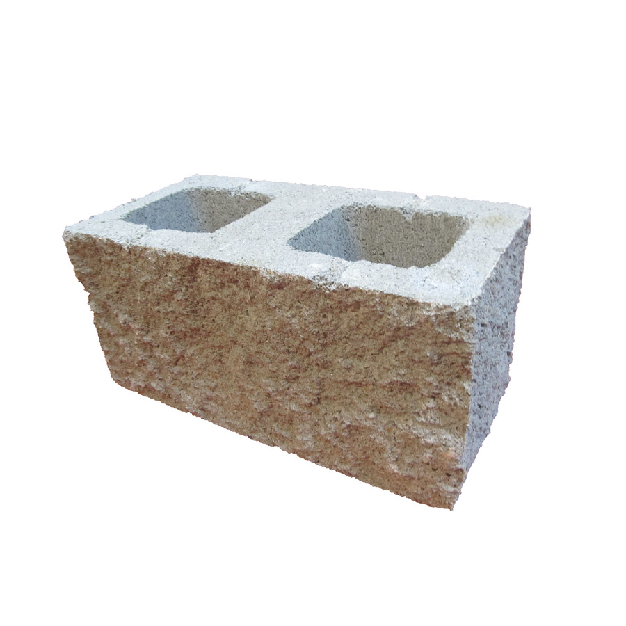 Shop Split Face Corner Concrete Blocks Common 8 In X 8