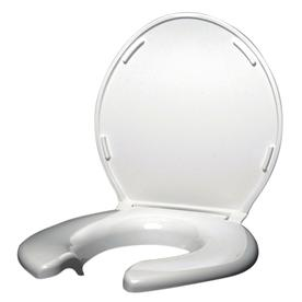 Big John Products Plastic Round Toilet Seat 2445263-3W