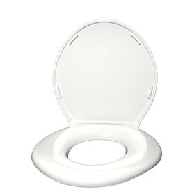 Shop Big John Products White Plastic Elongated Toilet Seat