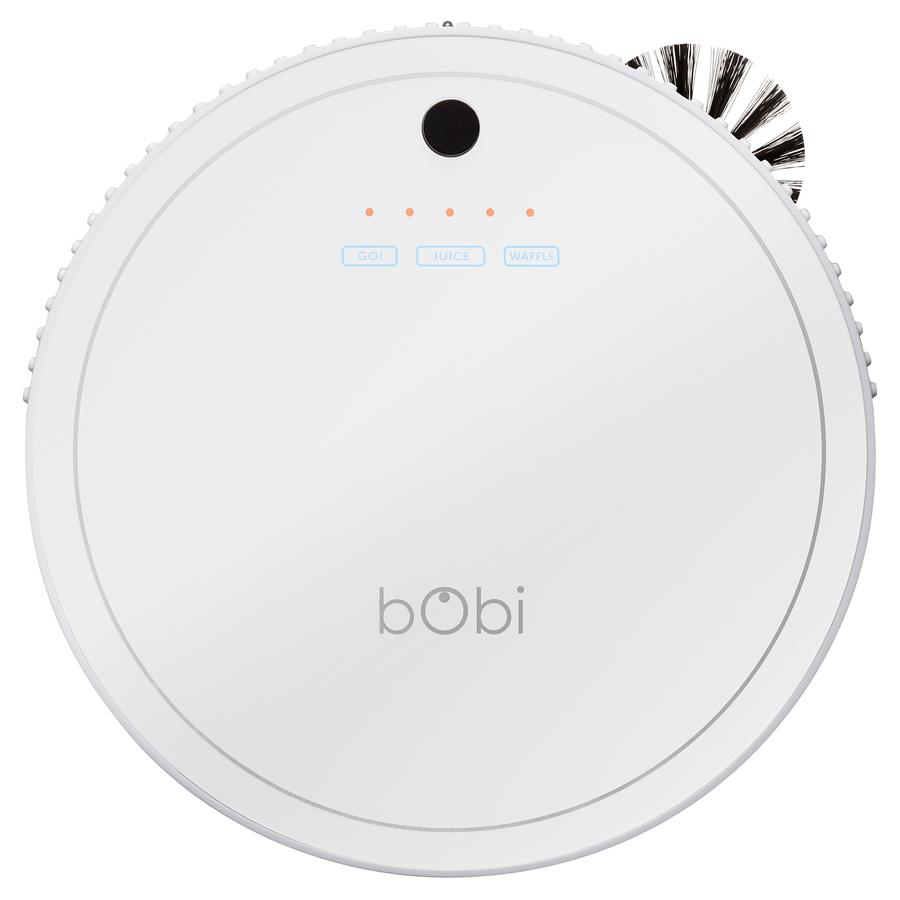 bObi Classic Robotic Vacuum Cleaner - White