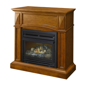 Gas Wall Fireplaces. Display product reviews for 35 75 in Dual Burner Vent Free Heritage Corner  or Shop Gas Fireplaces at Lowes com