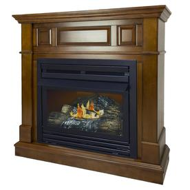 Display Product Reviews For 42 In Dual Burner Heritage Gas Fireplace