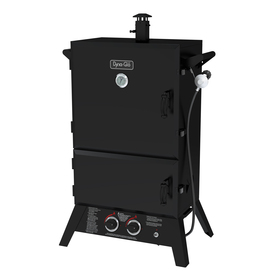 Dyna Glo 20 Lb Cylinder Electronic Ignition Gas Vertical Smoker (Common: 50