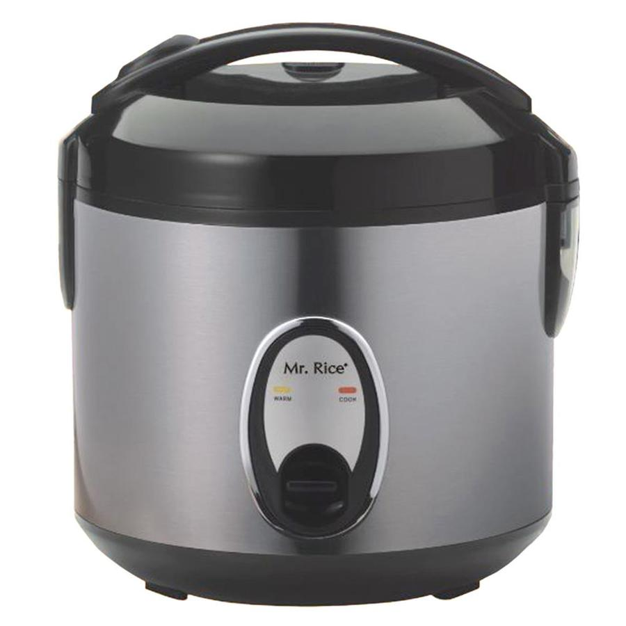 Spt 6-Cups Rice Cooker with Stainless Body
