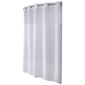 Display Product Reviews For Polyester White Solid Shower Curtain