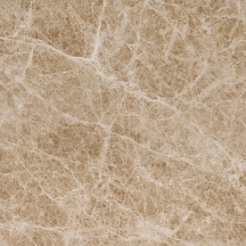 Bermar Natural Stone Emperador Light Polished Marble Floor and Wall Tile (Common: 12-in x 12-in; Actual: 12-in x 12-in) BMRT1878