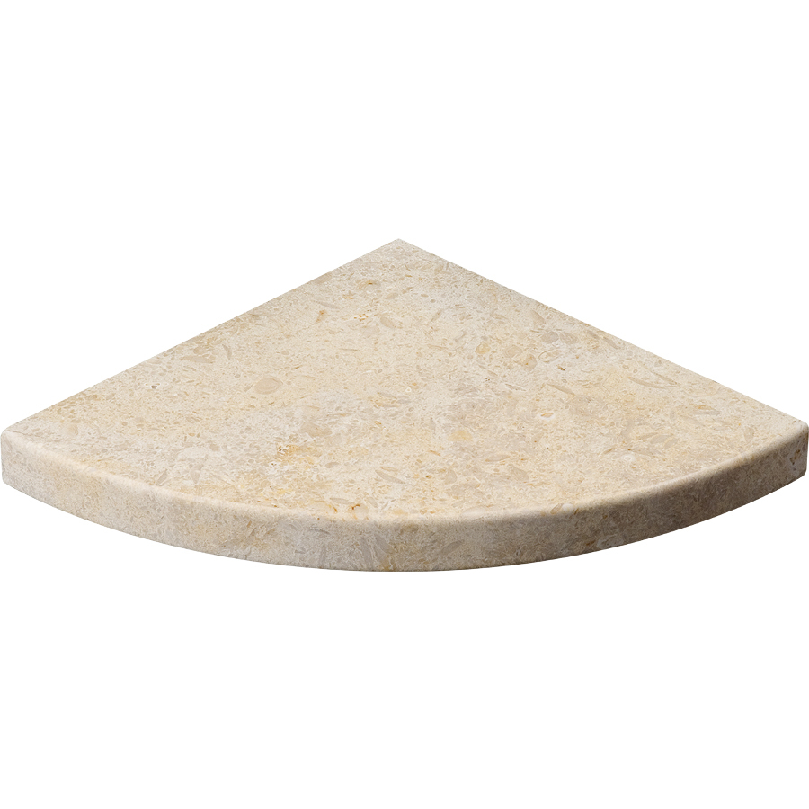 Shop Marble Systems NBS Seashell Natural Stone Corner