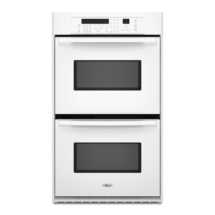Whirlpool Oven Whirlpool Gold Double Wall Oven