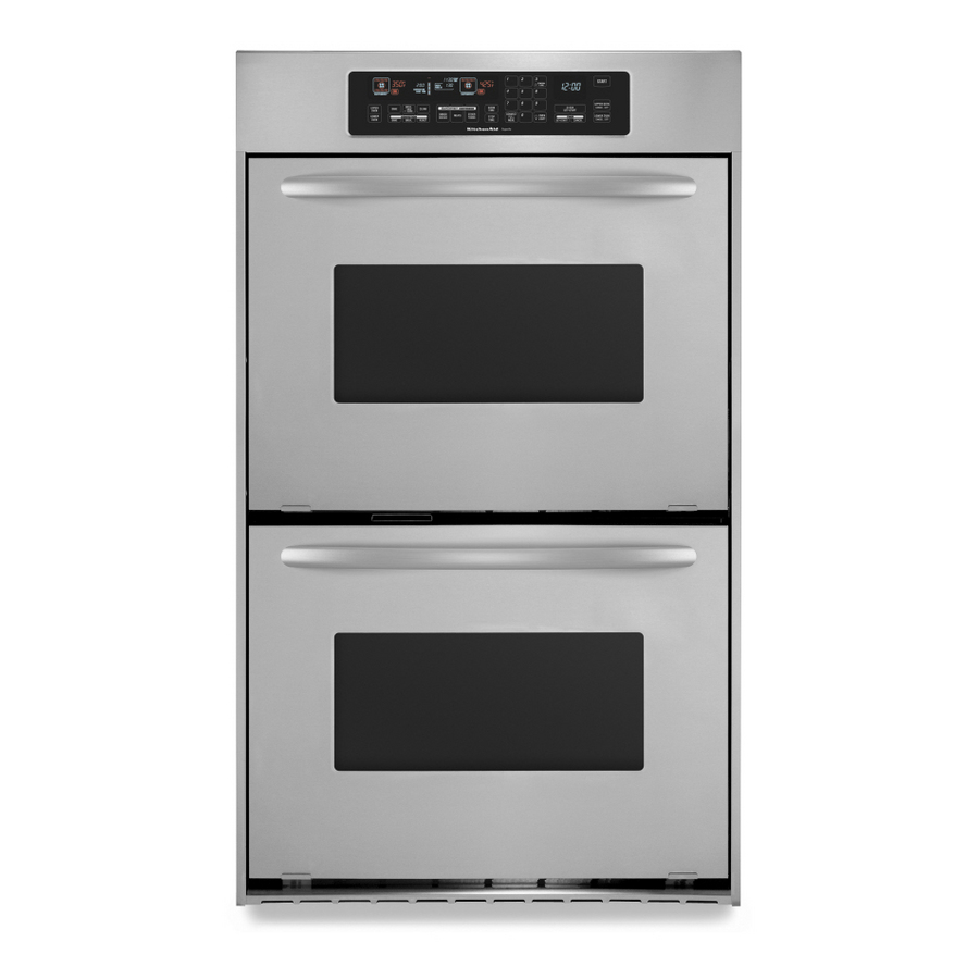 KitchenAid Architect Self Cleaning Convection Double ...
