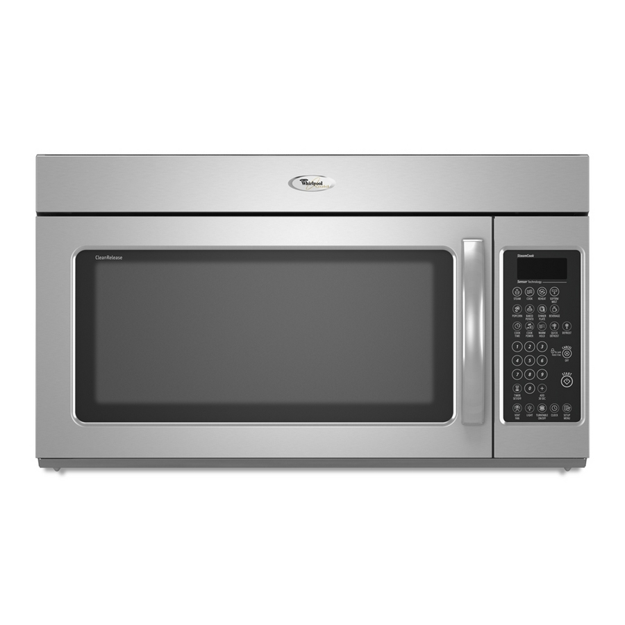Whirlpool Stainless Steel Microwave Oven: Shop Whirlpool 2 Cu Ft Over-the-Range Microwave (Stainless