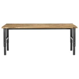 Gladiator 96-in W x 42-in H Adjustable Wood Work Bench GAWB08MTZG