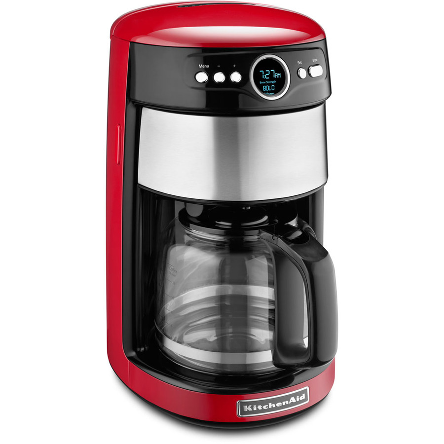 Shop Kitchenaid Empire Red 14 Cup Programmable Coffee