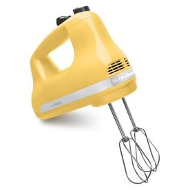 KitchenAid 78-In Cord 5-Speed Majestic Yellow Hand Mixer ...