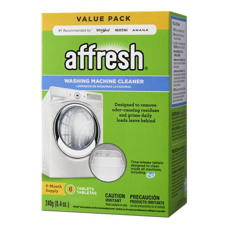 Shop Affresh 6 Pack 8 4 Oz Washing Machine Cleaner At