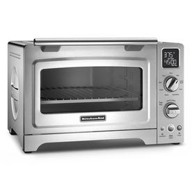 KitchenAid 6-Slice Stainless Steel Convection Toaster Ove...