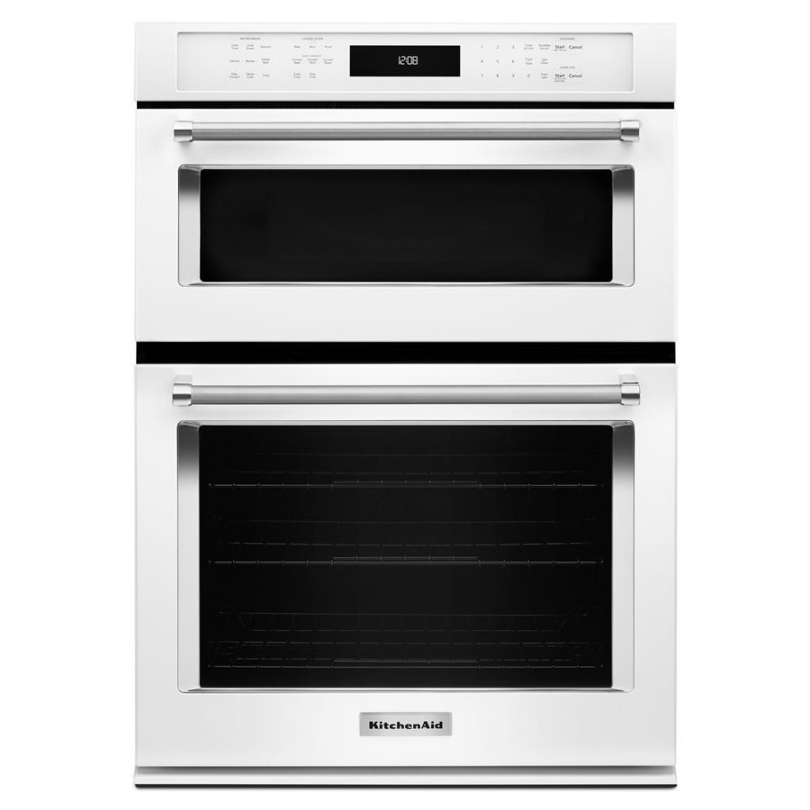 Shop Kitchenaid Self Cleaning Convection Microwave Wall