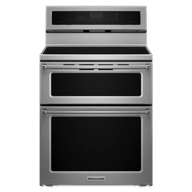 KitchenAid 6.7-Cu Ft Self-Cleaning Freestanding Induction...