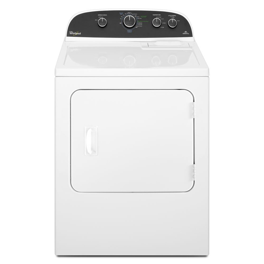 Shop Whirlpool 7-cu ft Electric Dryer (White) at Lowes.com