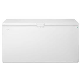 Whirlpool 21.7-Cu Ft Chest Freezer With Temperature Alarm...