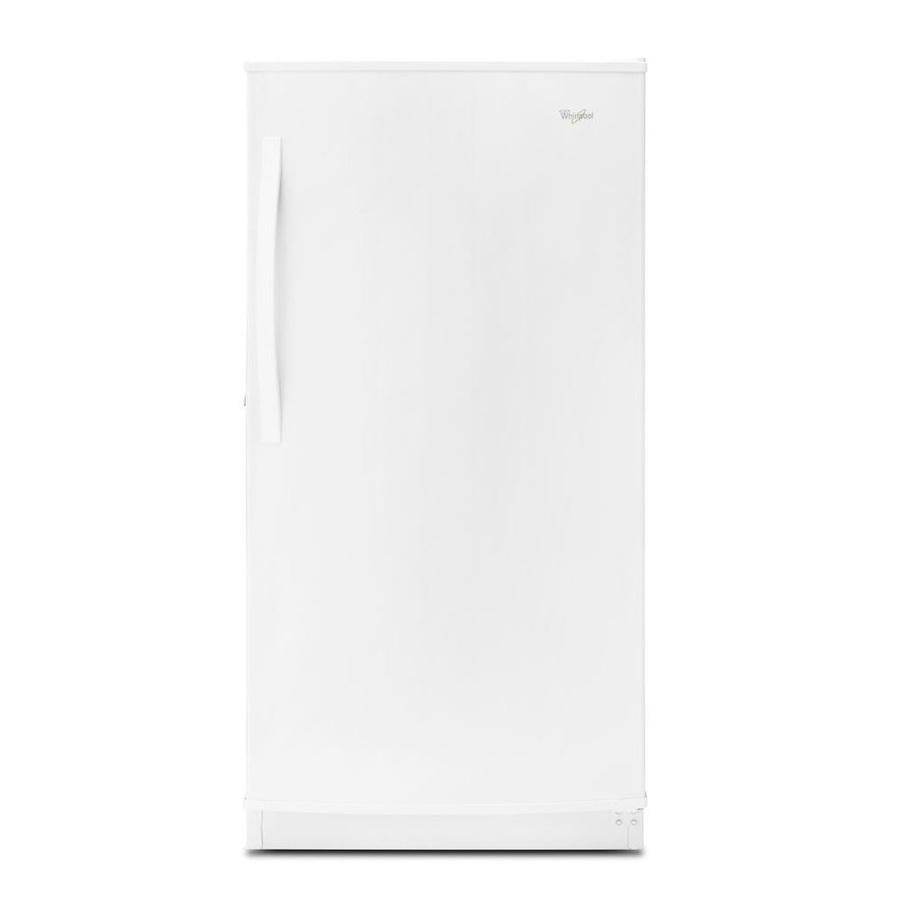 Whirlpool 15.7-Cu Ft Frost-Free Upright Freezer Wzf56r16dw