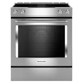 KitchenAid Smooth Surface Self-Cleaning Slide-In Single-F...