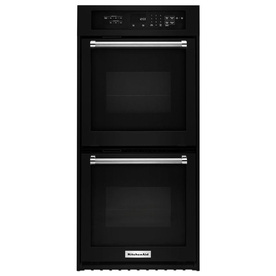 KitchenAid Self-Cleaning Convection Double Electric Wall ...