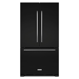 KitchenAid 25.2-Cu Ft French Door Refrigerator With Ice M...