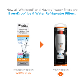 Everydrop Filter 2 6 Month Twist In Refrigerator Water Filter Compares To Filter 2 In The Refrigerator Water Filters Department At Lowes Com