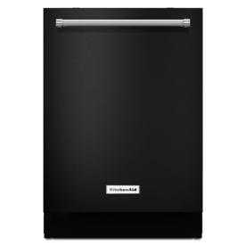 KitchenAid 46-Decibel Built-In Dishwasher (Black) (Common...