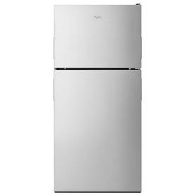Whirlpool 18.2-Cu Ft Top-Freezer Refrigerator With Ice Ma...