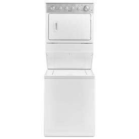 Whirlpool Electric Stacked Laundry Center With 2.5-Cu Ft ...