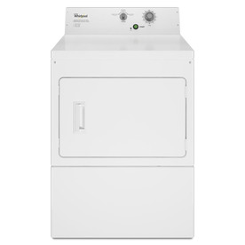 Whirlpool Commercial 7.4-cu ft Electric Commercial Dryer (White) CEM2795FQ