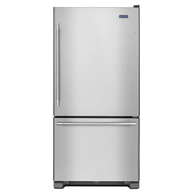 Etonnant Display Product Reviews For 18.7 Cu Ft Bottom Freezer Refrigerator With Ice  Maker (